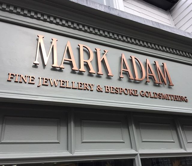 Can't tell you how great it is to have a shop make over, new colour, new logo, just loving it 😍#lovemarkadam #selfappreciation #standout #changeisgood