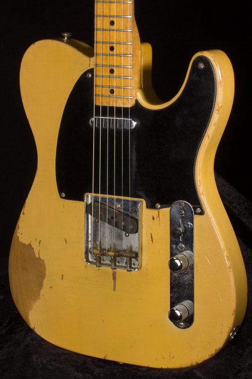 Vintage Fender 1951 Nocaster 1477