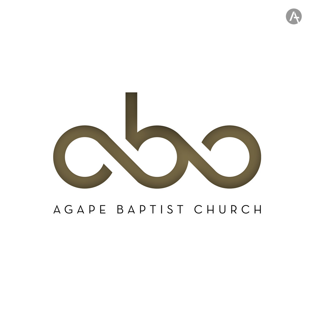 AGAPE BAPTIST CHURCH LOGO   This was created as part of rebrand for a church in Romania.