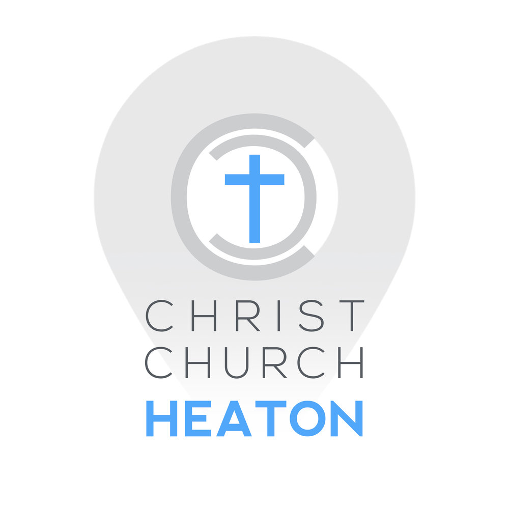CHRIST CHURCH HEATON LOGO   This was created as a possible design for a church in Newcastle.