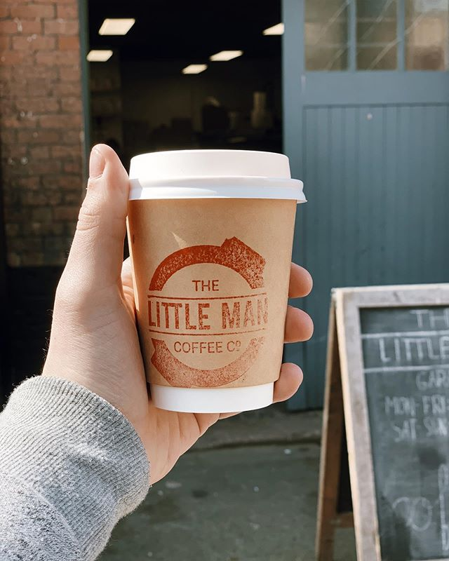 Had a stellar coffee at The Little Man Garage. Cool little spot!