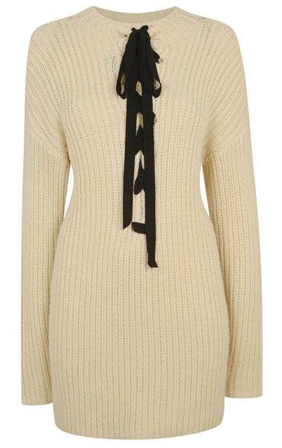 Totally in love with this sweater dress from the Kendall + Kylie for Topshop collection.
