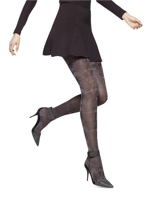 HUE Filigree Sweater Tights