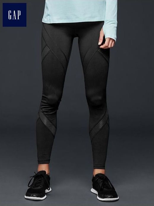 Gapfit Gfast mesh ribbon leggings