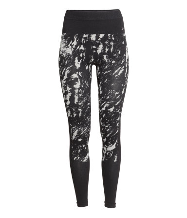 H&M Seamless Base-layer leggings
