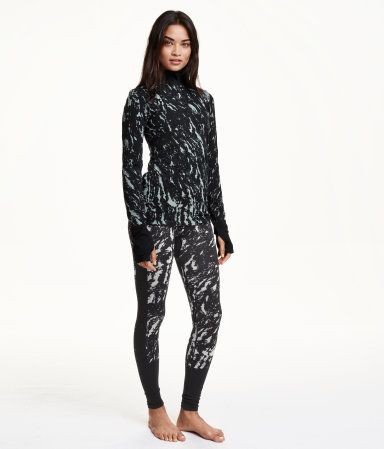 H&M Seamless Base-layer top  &   Seamless Base-layer leggings