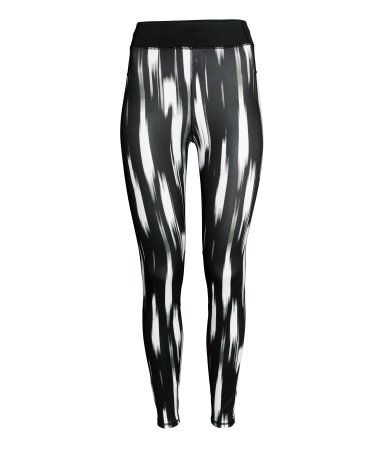 H&M Sport Running tights