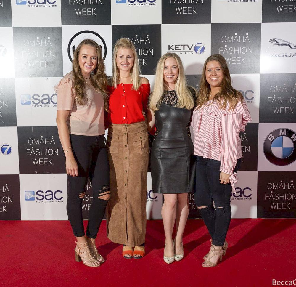 Fall 2017 Omaha Fashion Week Red Carpet