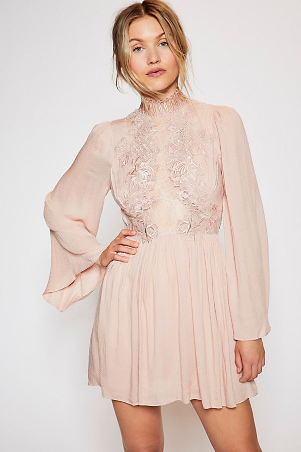 Free People Divine Mini Dress