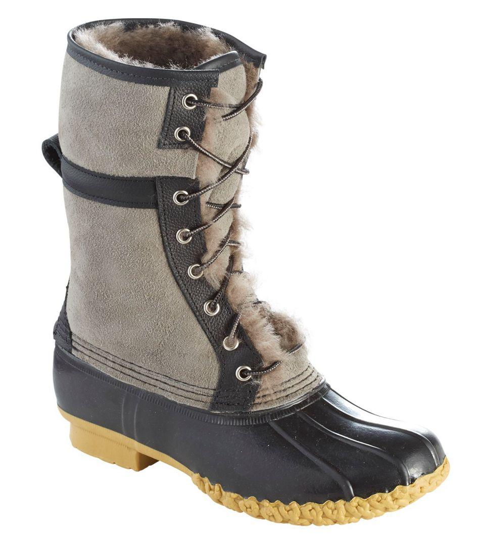 Wicked Good L.L. Bean Duck Boots in Graystone/Black.jpeg
