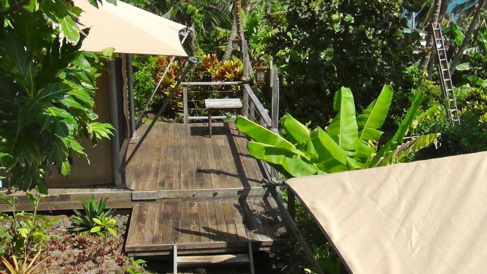 Los Escapados Eco-Cabin 1 private deck