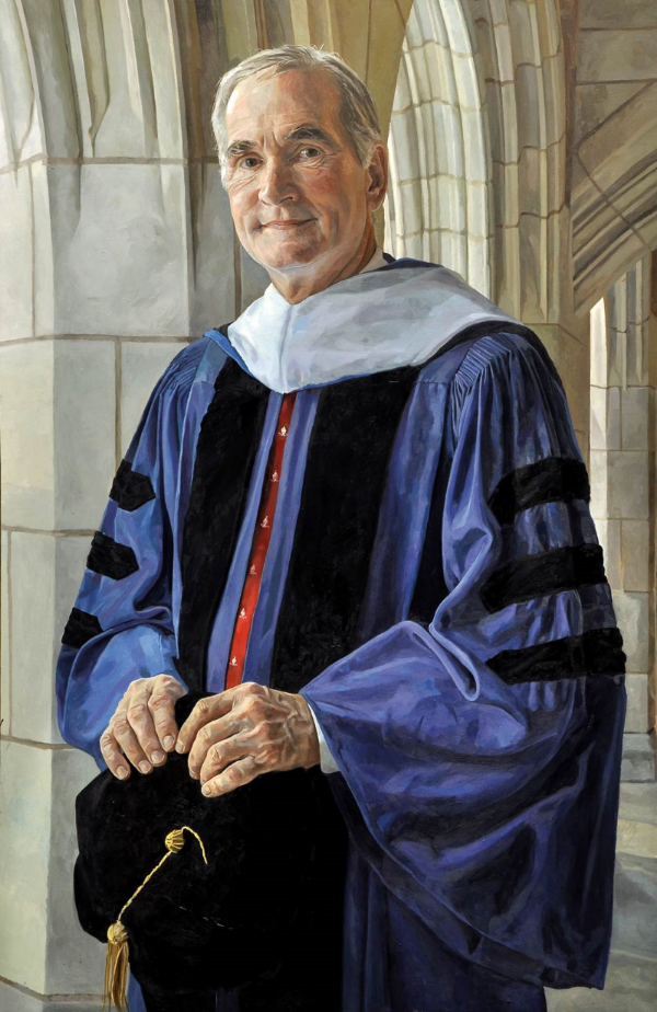 David F. Swensen  '80 Ph.D., '14 L.H.D.  Investor and Teacher  April 1, 2015  Portrait: Alastair C Adams PPRP