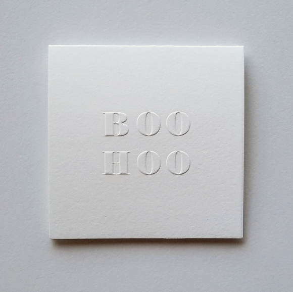 Our BOOHOO poco card ($5).