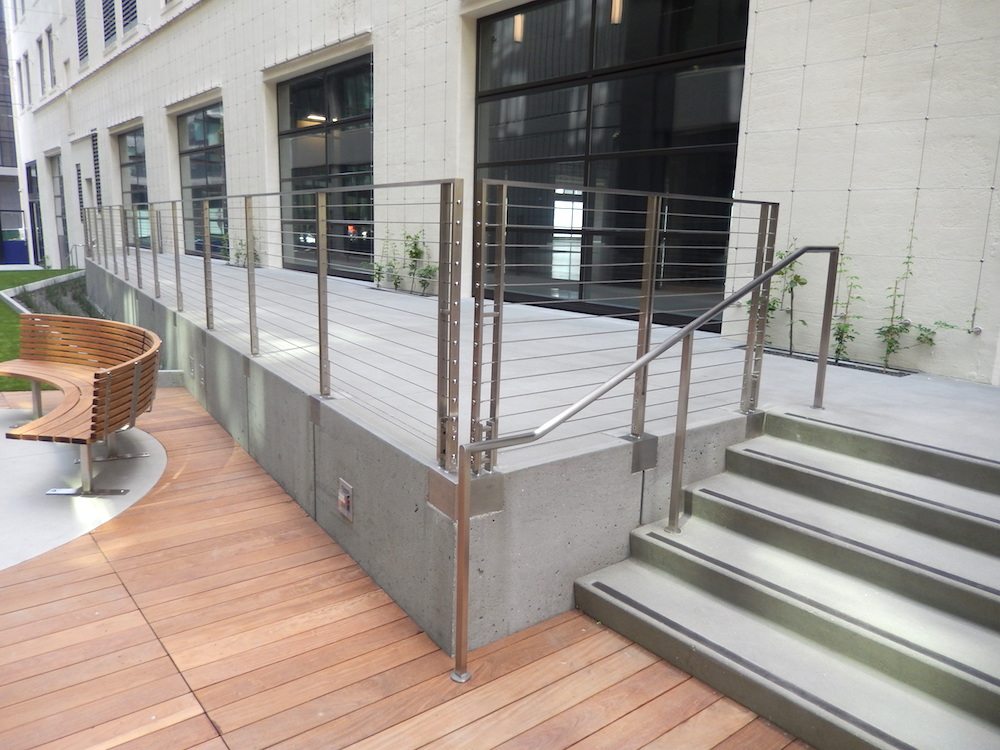Bon Stainless Steel Cable Railings; BNBuilders
