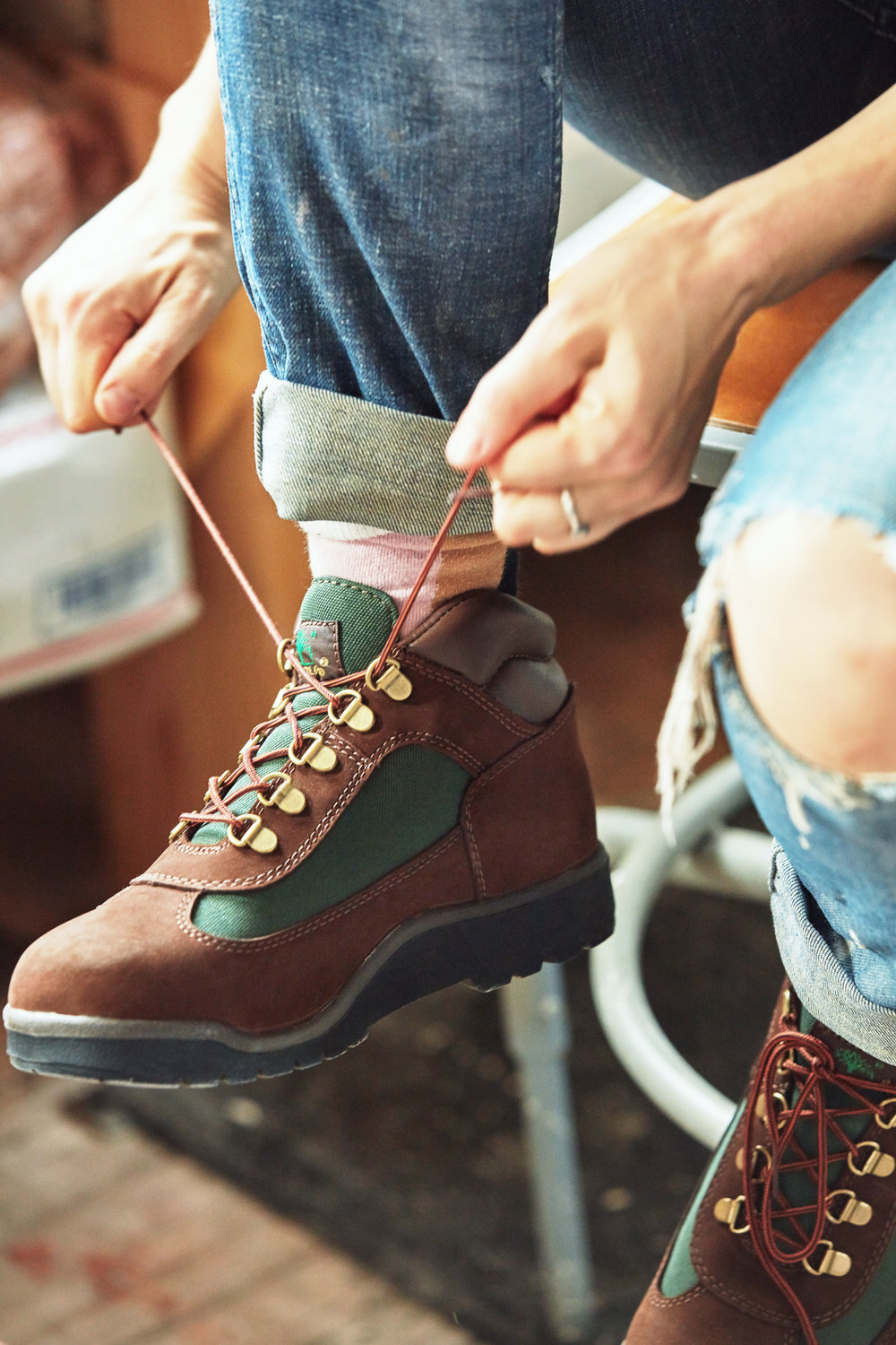 Helen Levi for Timberland