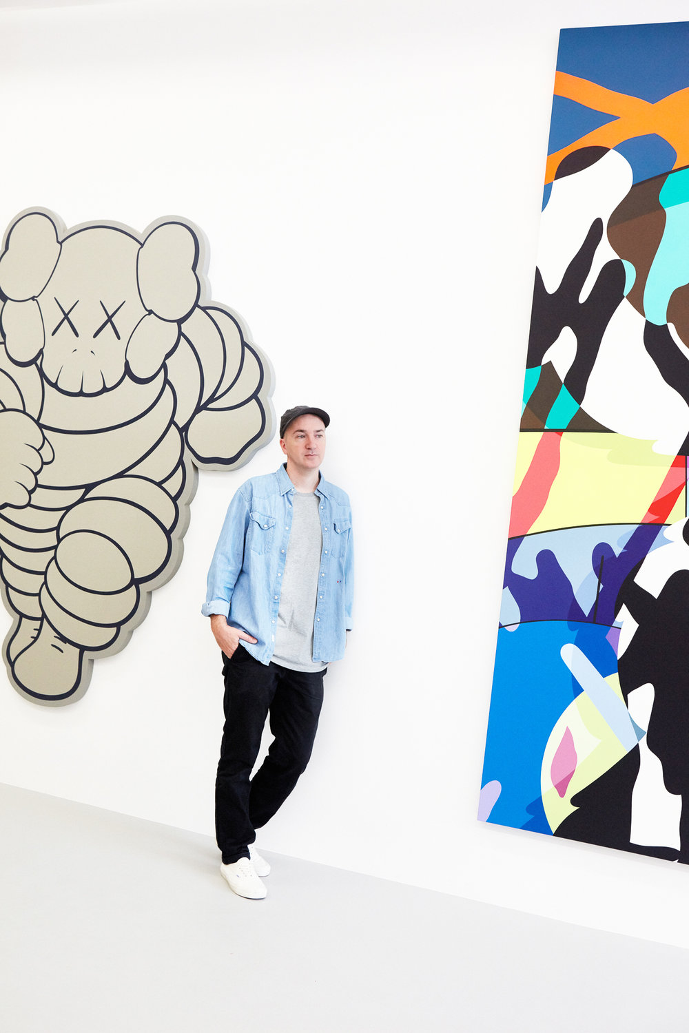 Kaws for Sneeze Magazine