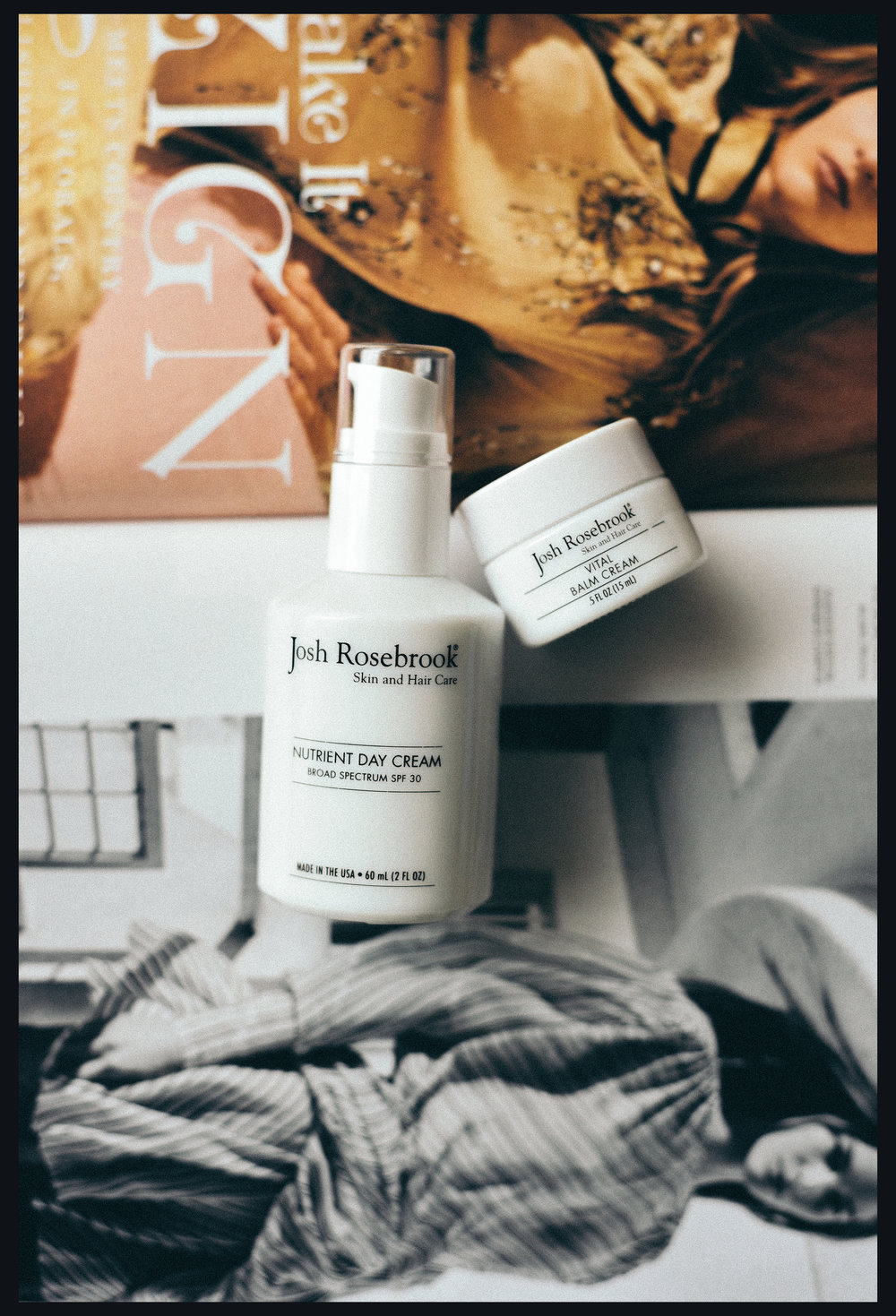 Beauty Heroes July Box, Josh Rosebrook's Nutrient Day Cream & Vital Balm Cream