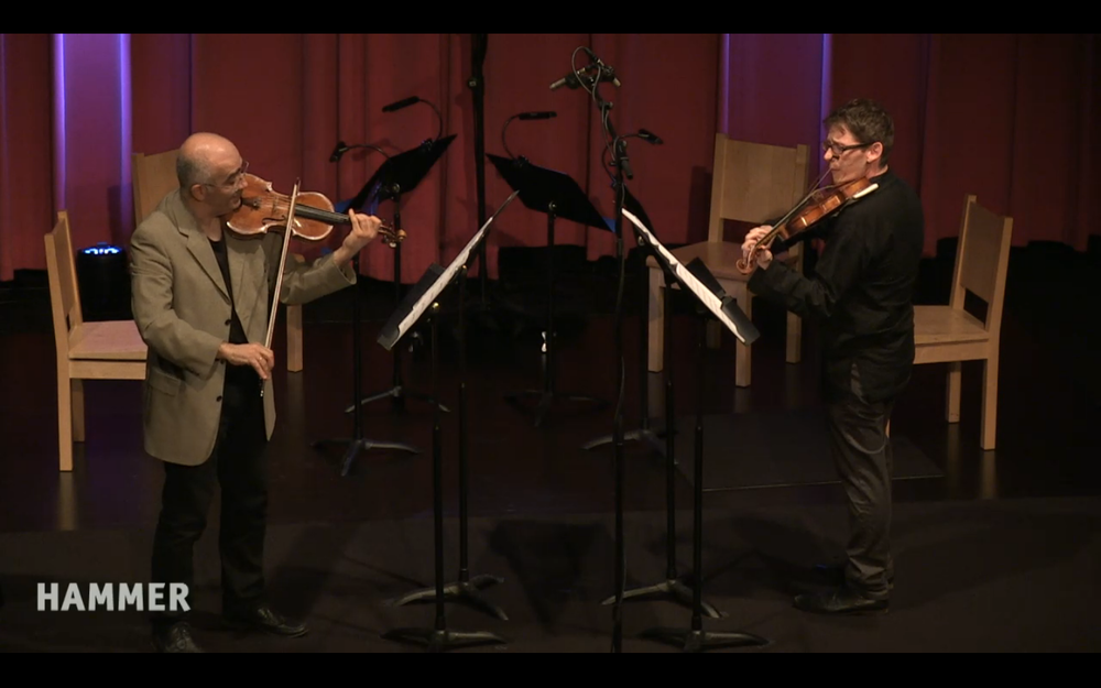 In-concert with Movses Pogossian at the HAMMER Museum (04/20/16).