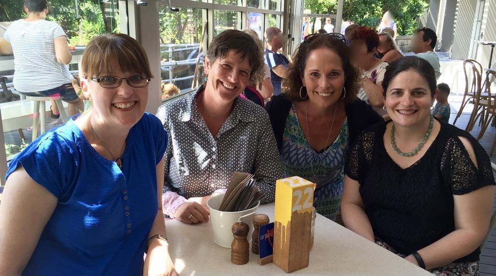 From Left to Right: Roxanne McLeod, Ann Lehmann-Kuit, Al Fuller, Elena Bellinato