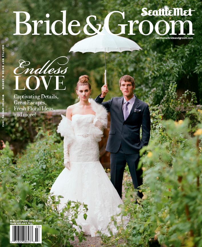 Shamila ~ Fine Jewelry featured in Seattle Met Bride and Groom Magazine Winter/Spring 2012