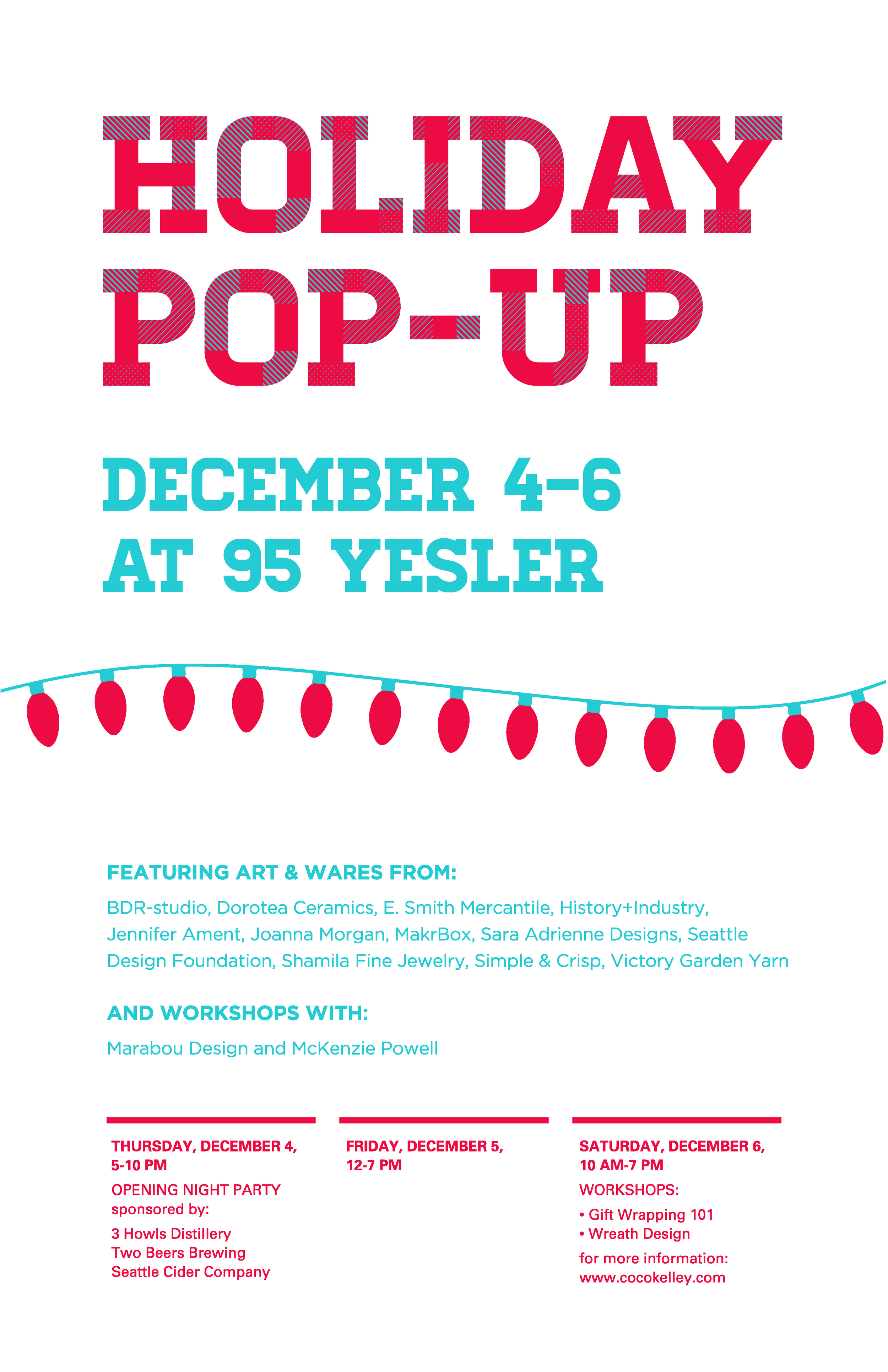 95 Yesler Pop Up