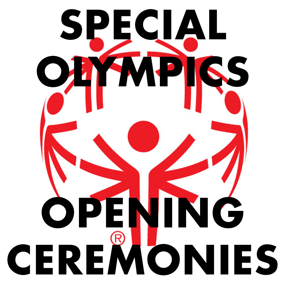 Special Olympics Opening Ceremony Town Toyota Center