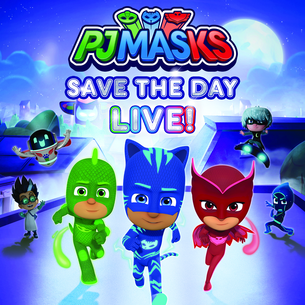 pj masks save the day live town toyota center