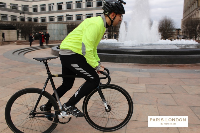 FIXIE BIKE HI-VIS JACKET