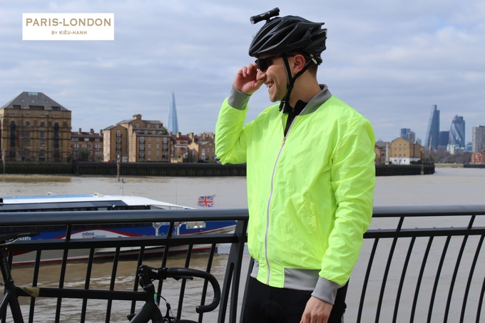 Cycling & Running Jacket. Made in England.