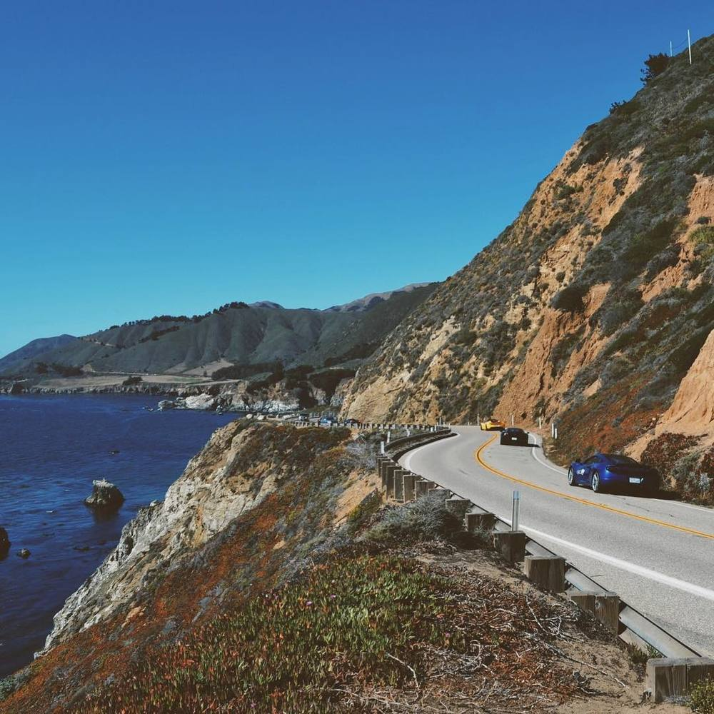 Pacific Coast Highway 1⃣ #california #bigsur #vsco
