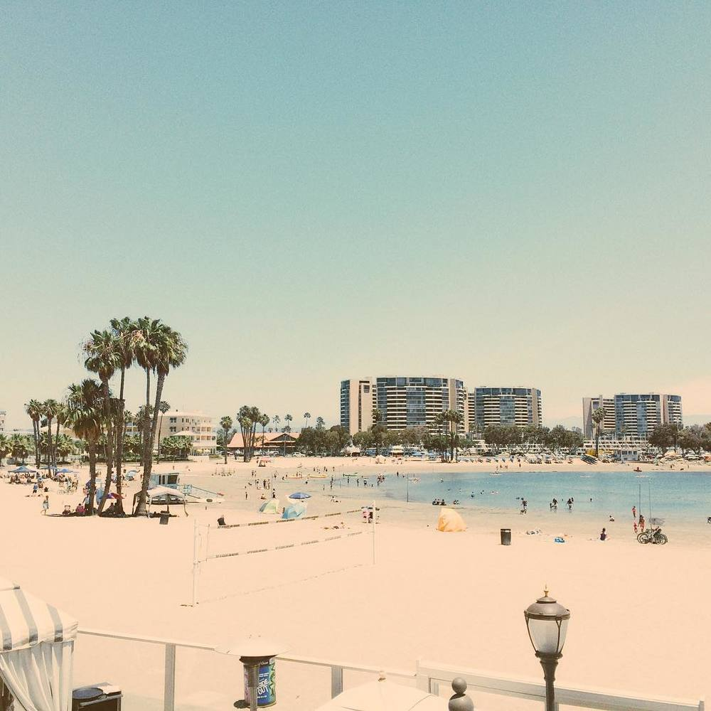 View from the brunch spot 🔆 #vsco #cali  (at Marina del Rey Beach)