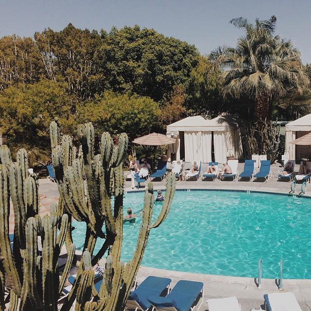 I ❤️ Palm Springs  (at Pool At Palm Springs Tennis Club)