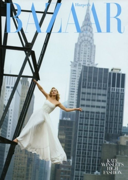 Harpers Bazaar August 2009