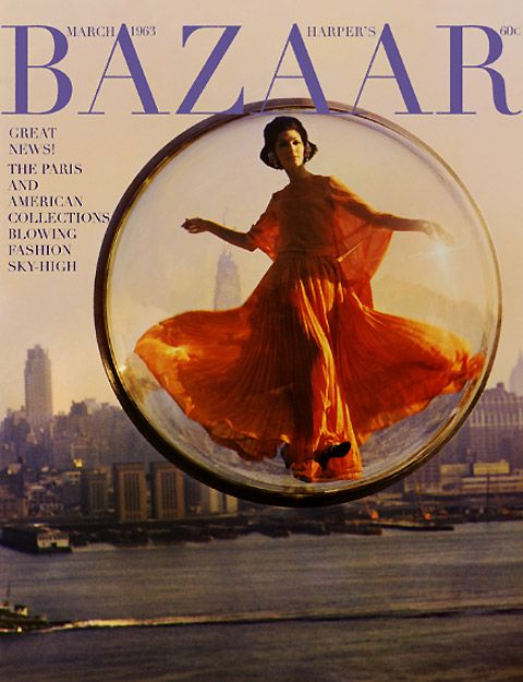 Harper's Bazaar March 1963