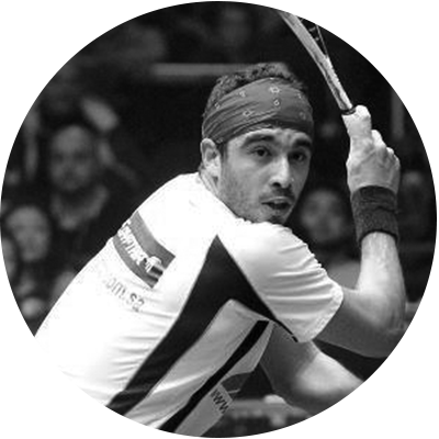 Hisham   Squash Instructor  Hisham is a professional squash player originally from Egypt. He was ranked world's #11 best player and is now a coach at CityView Racquet Club.