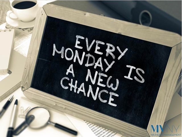 Who else thinks this is true!? 👊🏻 Every Monday is a new chance to succeed ! #propertymanager #nyc #realdeal #nyhomes #manhattan #lifestyle #nylikes