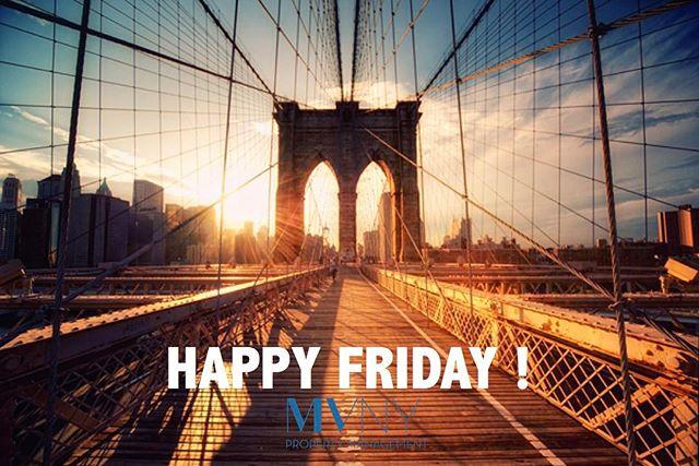 Happy Friday 🙌🏼🙌🏼 ! #projectmanagement #nyc #nyrealtors #nybrokers #nyfood