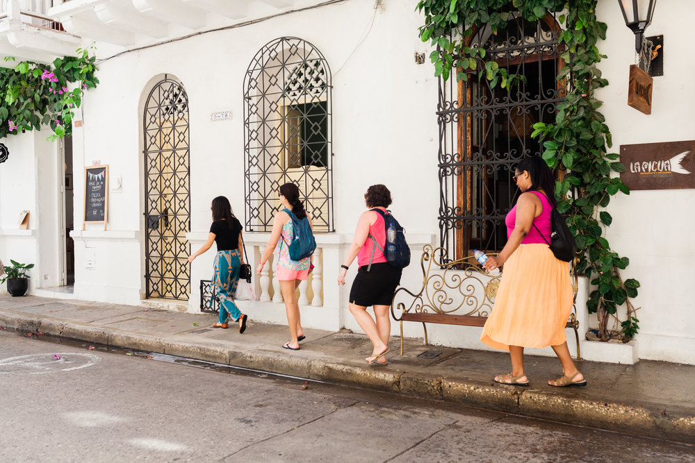 DAY 2: CARTAGENA - Hit the calle and explore the old city of CartagenaSavor unique tastes during a street food tourTune-in to the rhythms of the locals with a salsa lessonMeals included: breakfast + lunch