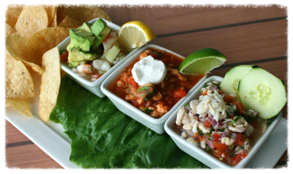 Our Newest Item: CEVICHE TRIO!