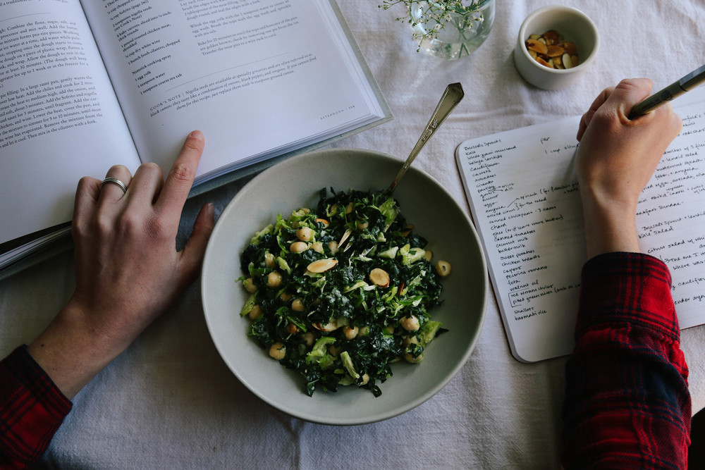 field+forest | kale salad