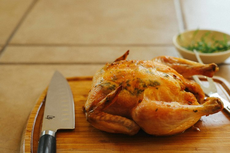 French Roasted Chicken | Christmas Potluck Recipes for Your Office Party | Homemade Recipes