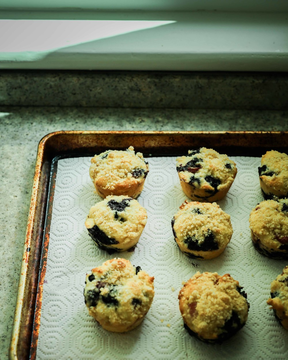 berry vanilla yogurt muffins - field + forest