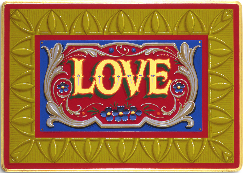 Ford Gallery's return of the LOVE show! Click here for more info. -