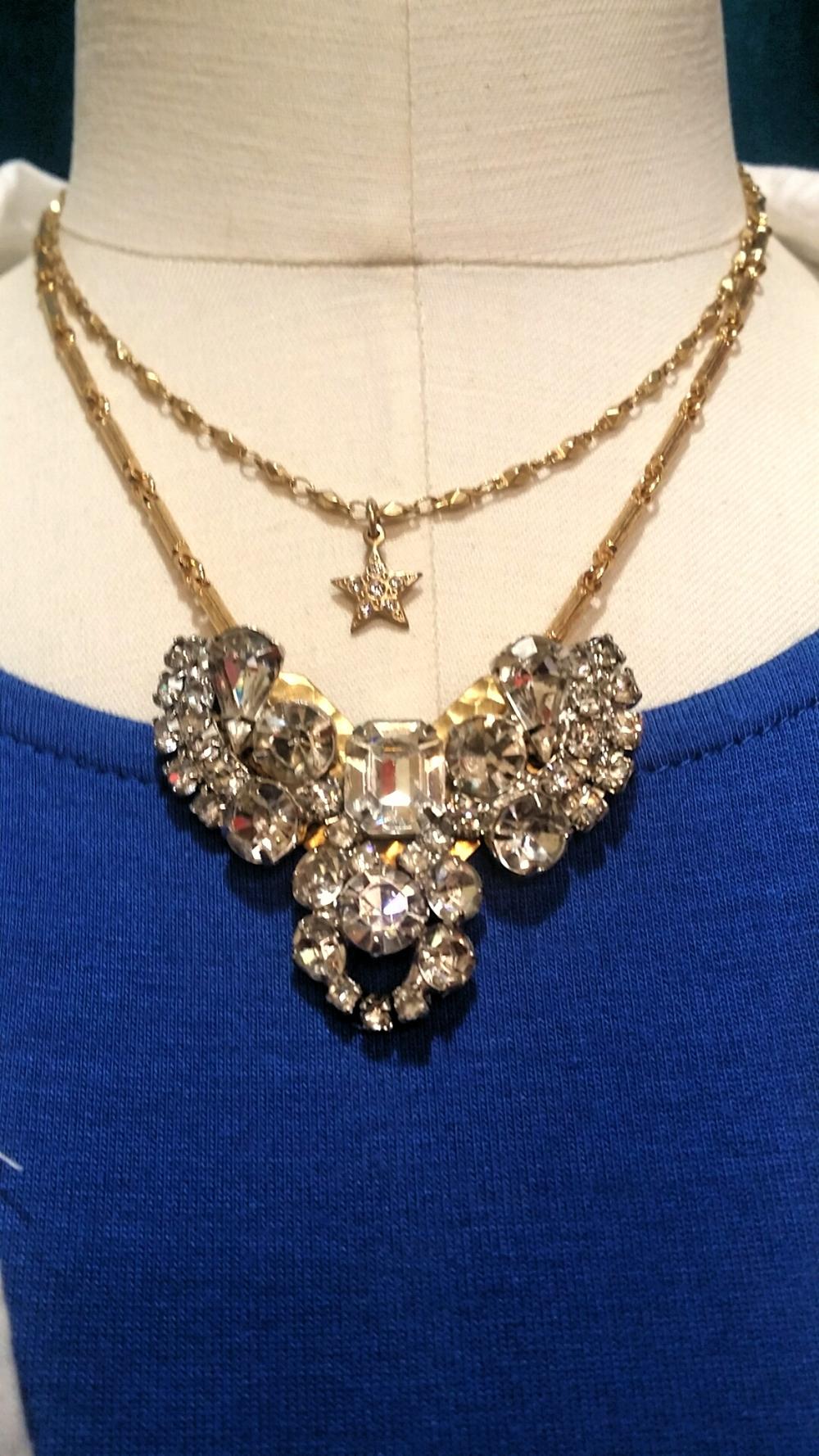 Lulu's Petals necklace: $58. La Vie Star necklace: $52