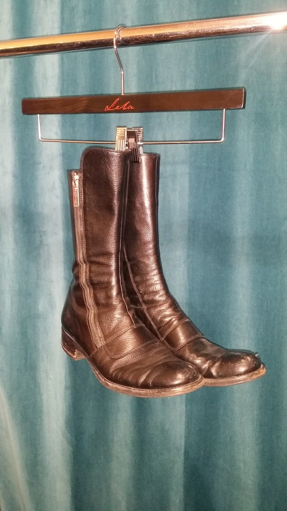 Sergio Rossi boots, size 10, $38