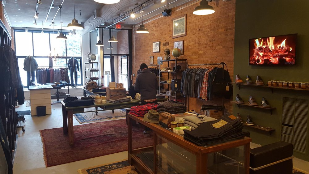 Milworks - Looking for menswear on the casual side? Check out Milworks, in the park at the very end of Broadway. Bonus: an incredibly curated Instagram feed for the menswear aesthete.