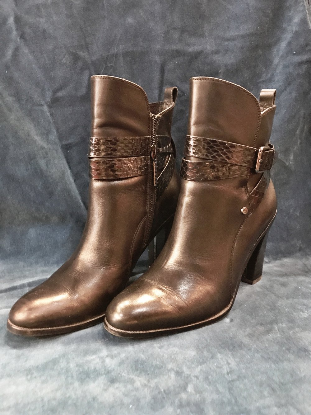 Donald J Pliner booties, $148 (originally $329), size 7.5