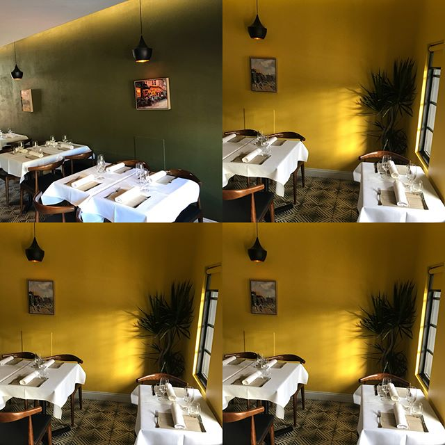 Colour change. #yellow #fresh #stclaudes #frenchbistro #woollahra