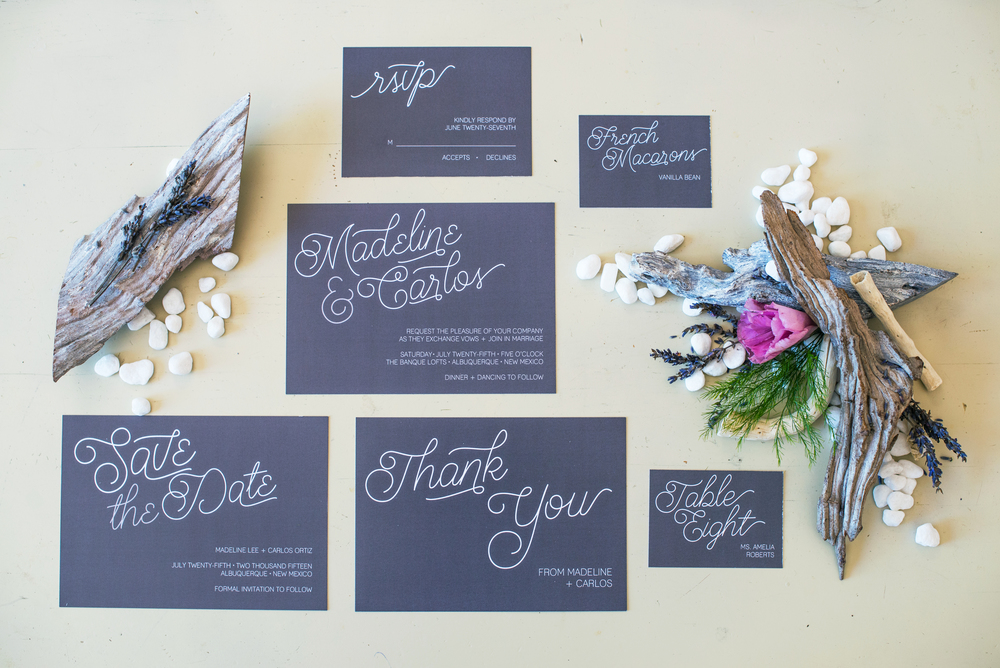 Stationery Julie Haider Photography Design