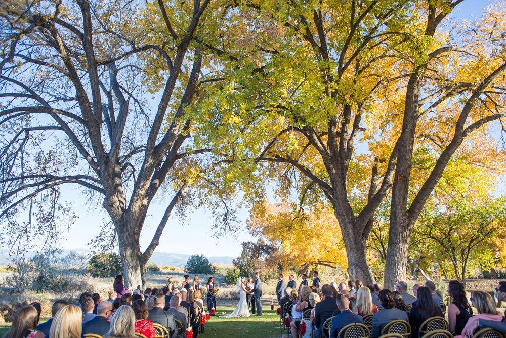 La-Mesita-Ranch-Wedding-Santa-Fe-New-Mexico-Fall-Outdoor-Ceremony-Under-Tree_35.jpg